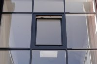 MB-70 Fenster in Aluminium-Glasfassade
