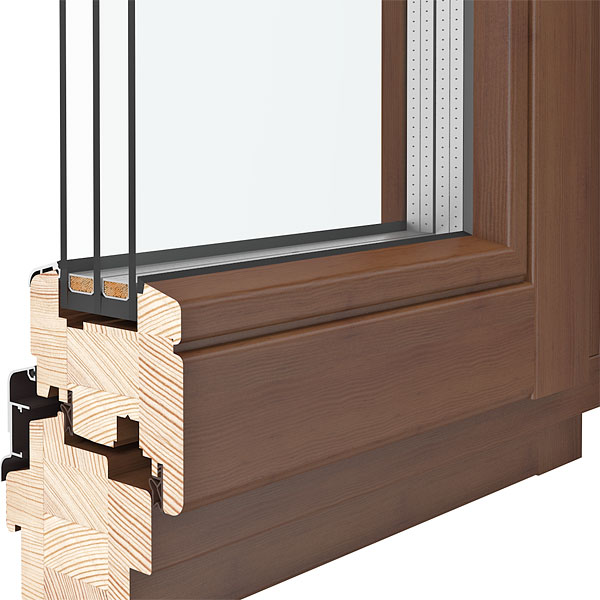 SOFTLINE Holzfenster DRUTEX